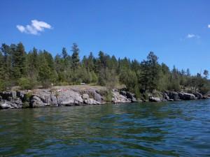 Flathead Lake - Wayfarer's State Park