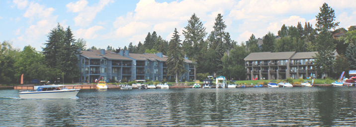 Marina Cay - Set at the mouth of Bigfork Bay on Flathead Lake.