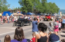 Columbia Falls annual parade during Heritage Days