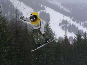 Whitefish Mountain Resort - boy skiing