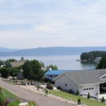 Flathead Lake views from Mission View Terrace