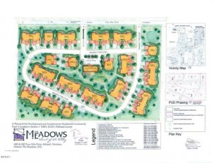 The Meadows Site Plan