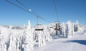 Skiing in Whitefish, MT