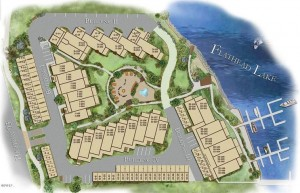 Layout of Waterside Condominiums