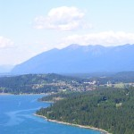 Bigfork is nestled on the NW shore of Flathead Lake.